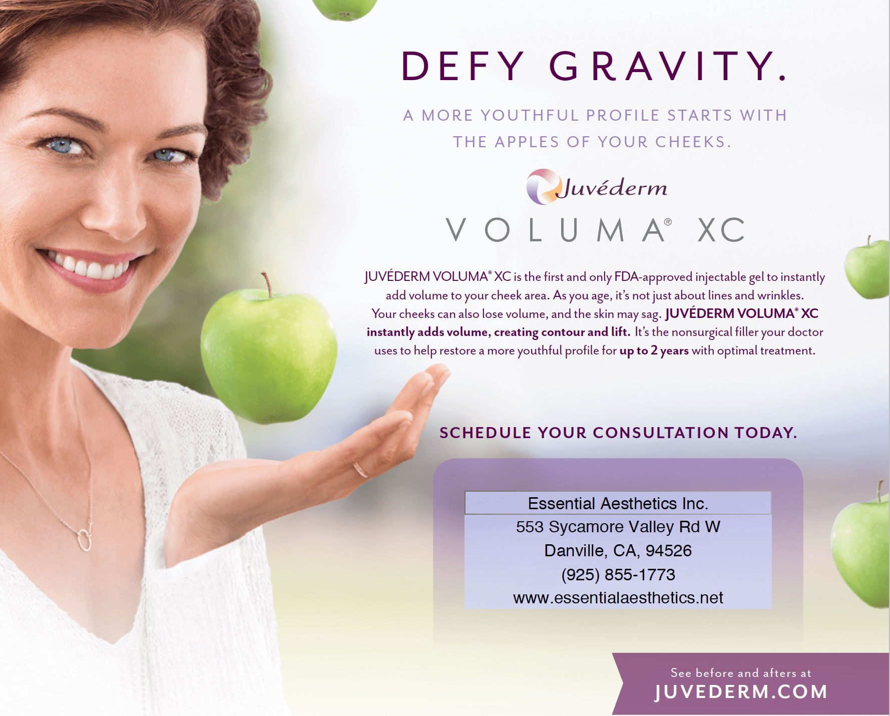 Defy Gravity with Juvederm® Voluma XC